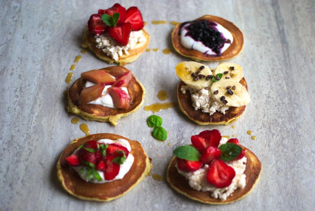 Szybkie pancakes na 5 sposobów