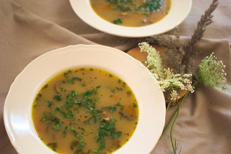 Zupa grzybowa (moja ulubiona)