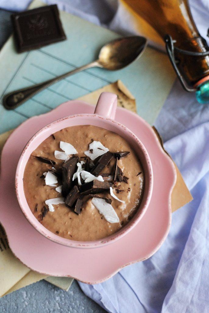 mus-czekoladowy-686x1024 Mus czekoladowy z bananem i masłem orzechowym