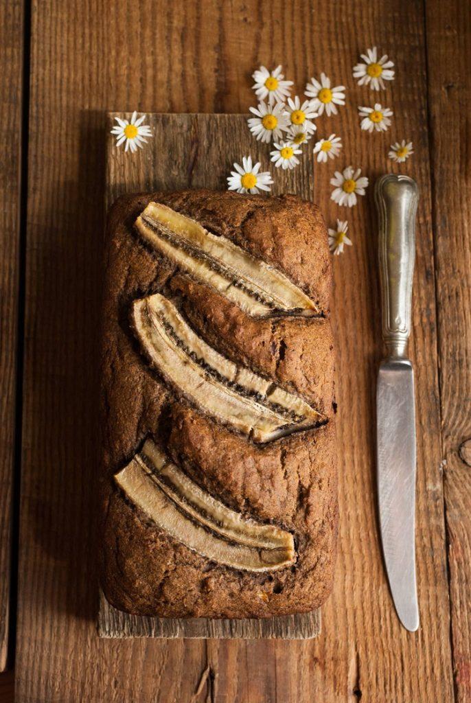 bananowe-ciasto-686x1024 Chlebek bananowy słodzony daktylami
