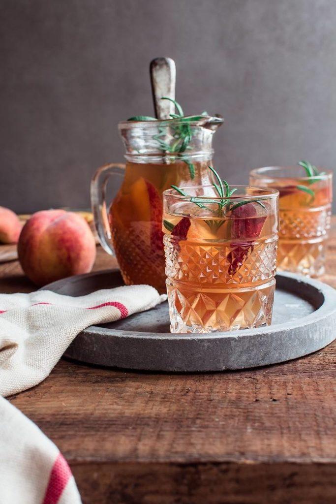 Mrożona herbata brzoskwiniowa