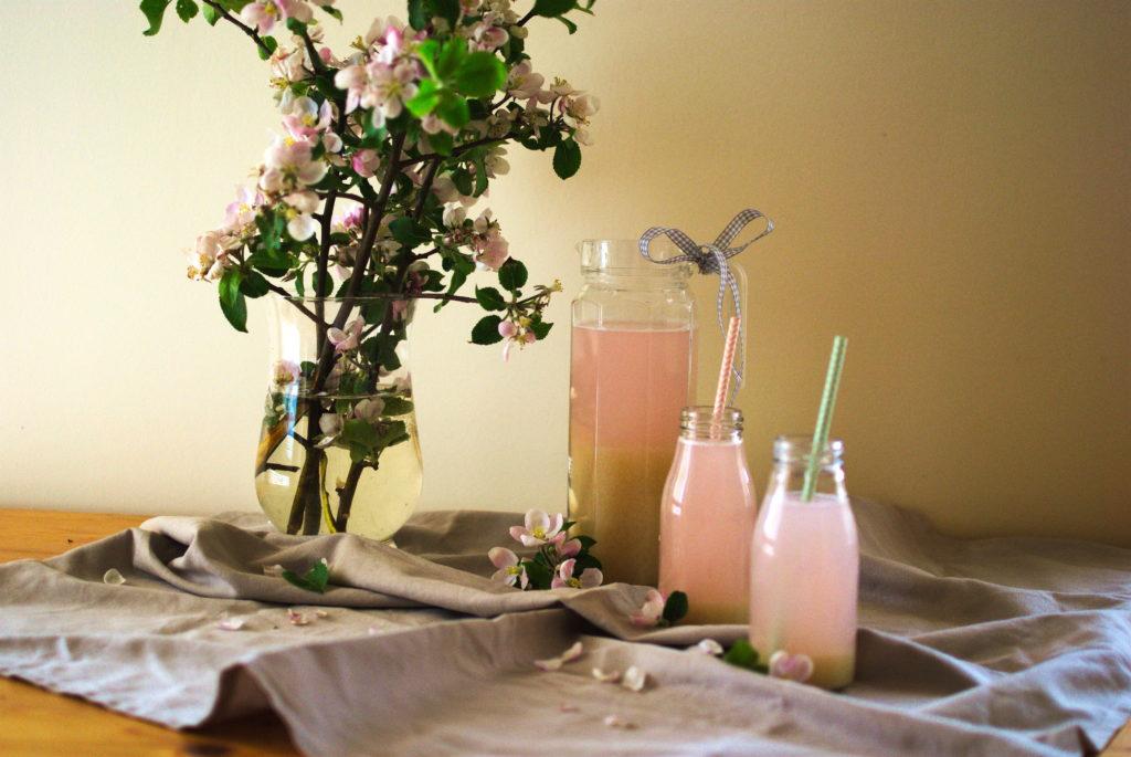 Lemoniada z rabarbarem