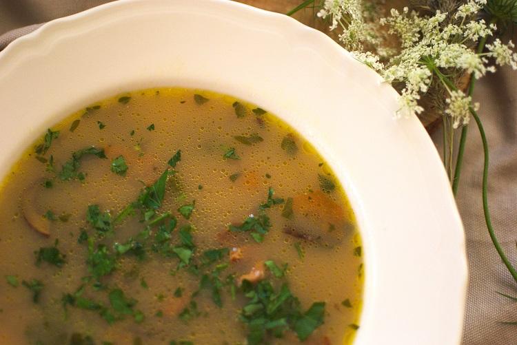 grzybowa Zupa grzybowa (moja ulubiona)