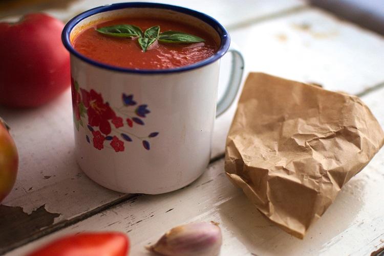 krem-pomidorowy Krem z pieczonych pomidorów