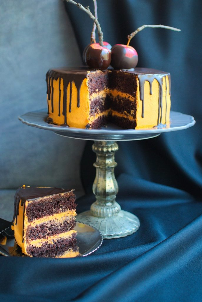 ciasto-na-halloween-686x1024 Tort czekoladowy na Halloween