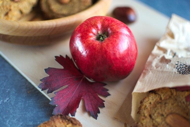 jabłko Ciasteczka owsiane