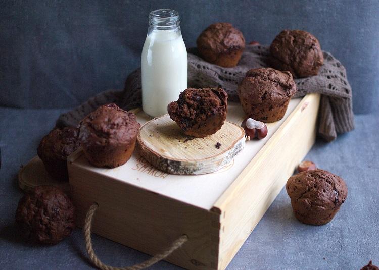 muffiny-potrójnie-czekoladowe Muffinki potrójnie czekoladowe