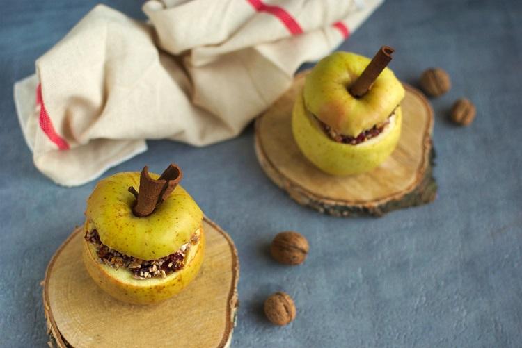 pieczone-jabluszka Pieczone jabłka - przepis idealny