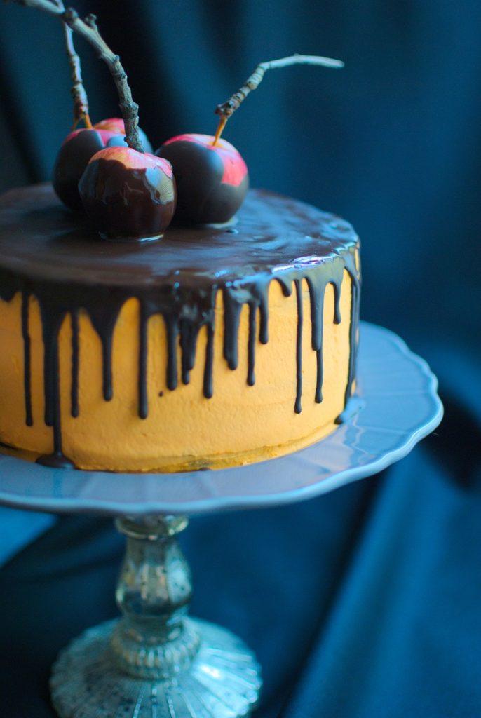 tort-halloween-686x1024 Tort czekoladowy na Halloween