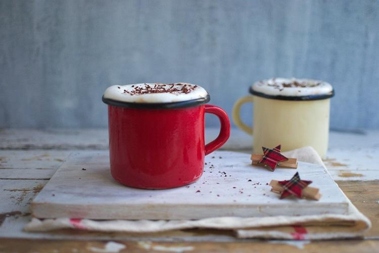 gorąca-czekolada Piernikowa gorąca czekolada