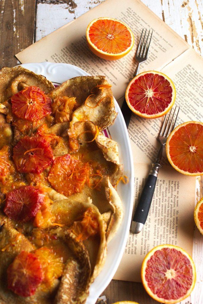 pomaranczowe-nalesniki-686x1024 Naleśniki z sosem z sycylijskich pomarańczy