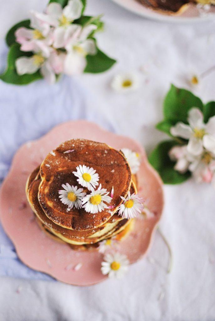 Delikatne pancakes na maślance