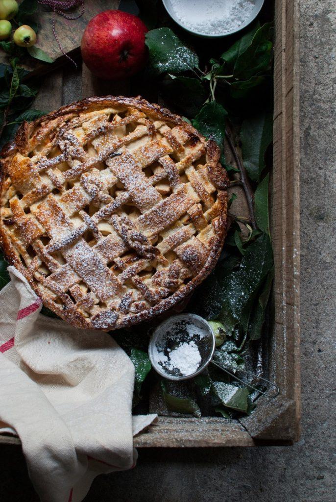 tarta-2-686x1024 Krucha tarta z jabłkami