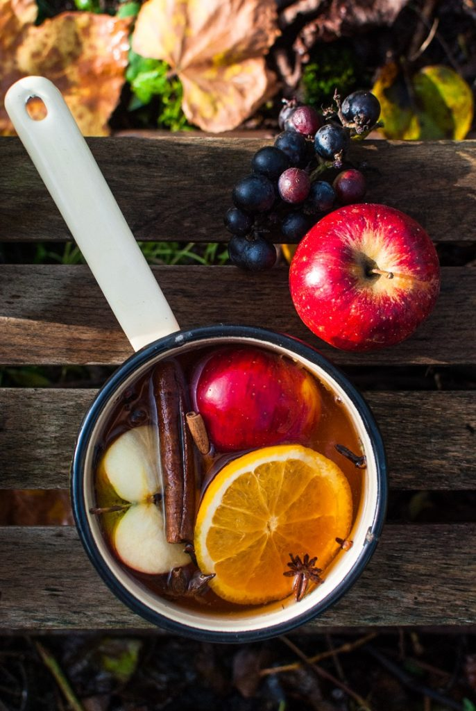 Grzany sok jabłkowy