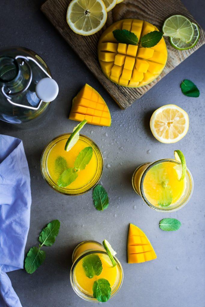 Lemoniada mango z limonką
