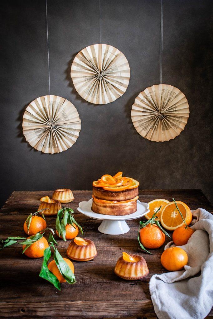 Oliwne ciasto pomarańczowe